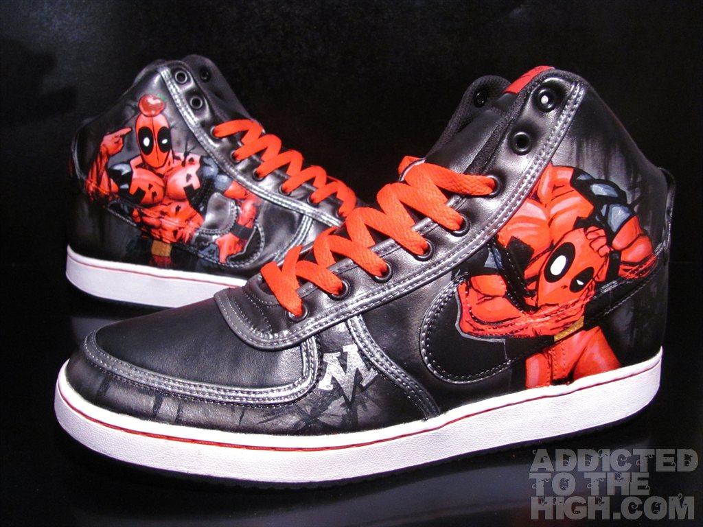 Deadpool Shoes For Sale