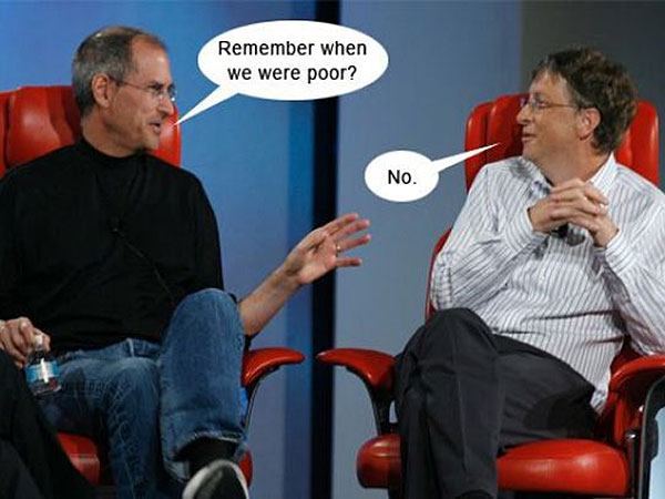 steve jobs jokes. Bill Gates or Steve Jobs…